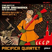 The Soviet Experience, Vol. 2 - String Quartets by Shostakovich and his contemporaries by Pacifica Quartet (2012-03-27)