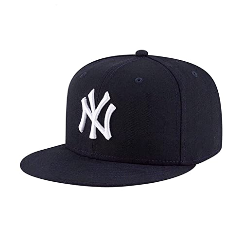 f94f722733742 Hashtag Solid Ny White Hip Hop Cap Boy s Cotton Snapback Baseball (Black ...