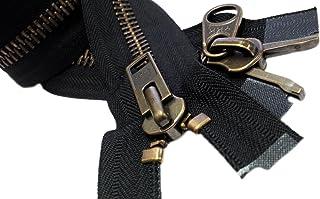 "ZipperStop Wholesale Authorized Distributor YKK® 36"" Parka Dual Separating Jacket Zipper Extra Heavy Duty YKK #10""2-way"" A..."