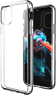 ZUSLAB Tough Fusion Case Compatible with Apple iPhone 11 Shock Absorption Rubber Bumper Protective Case Transparent Hard B...