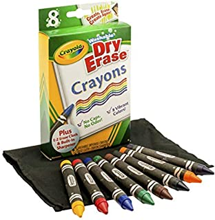 Crayola 8 ct. Dry-Erase Crayons, Large Size, 1 of Piece