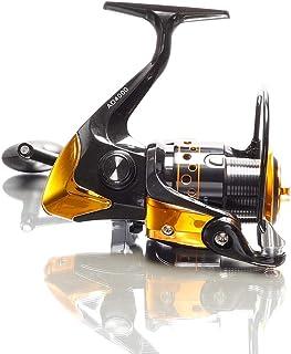 YUMOSHI スピニングリール リール ADシリーズ ベアリング 12+1 サビキ カゴ釣り ノマセ 2000 3000 4000 5000 糸あり