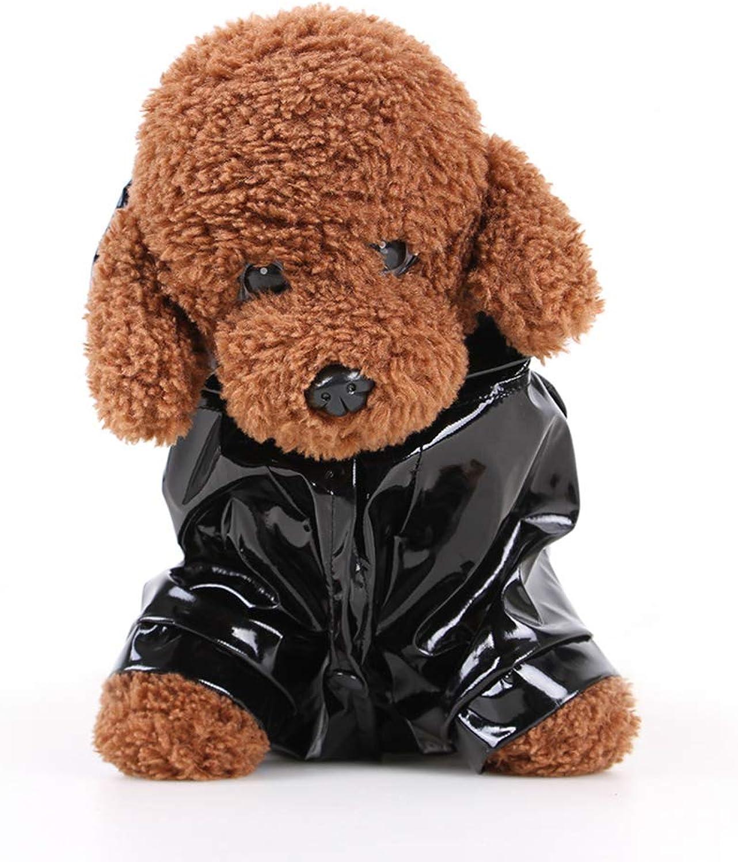 Fashion Pet Raincoat Dog Raincoat Pet Clothes Transparent Raincoat Light Clothes Waterproof for Small Dog Raincoat with Hood
