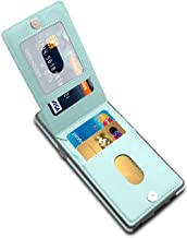 LakiBeibi Galaxy Note 8 Case, Premium Leather Anti-Scratch Samsung Galaxy Note 8 Case Wallet with Credit Card Slots Flip Shockproof Protective Case for Samsung Galaxy Note 8 (2017), Mint
