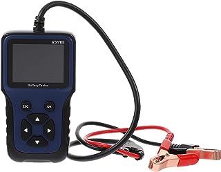 Wakauto Testador de bateria automático de 12 V, verificador de bateria de carro, equipamento de teste durável
