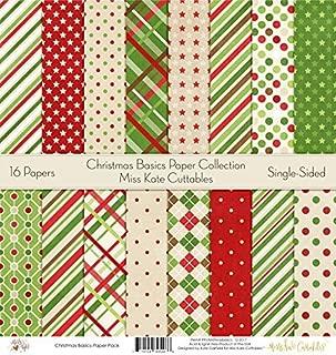 christmas scrapbook paper single sheets