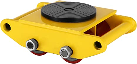 OrangeA Industrial Machinery Mover 13200-lb Machinery Skate w/ Steel Rollers Cap 360 Degree Rotation