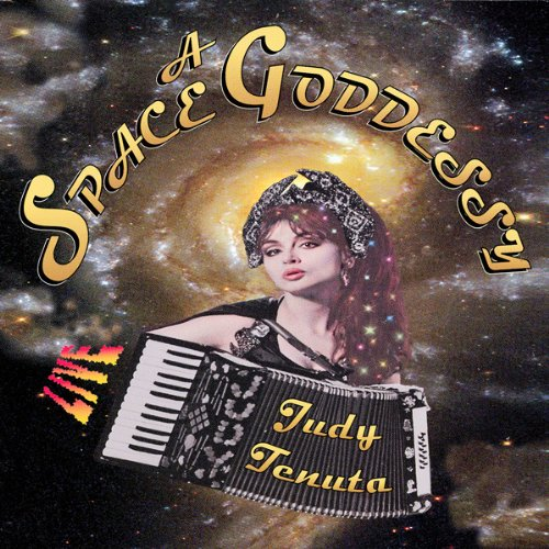 A Space Goddessy audiobook cover art