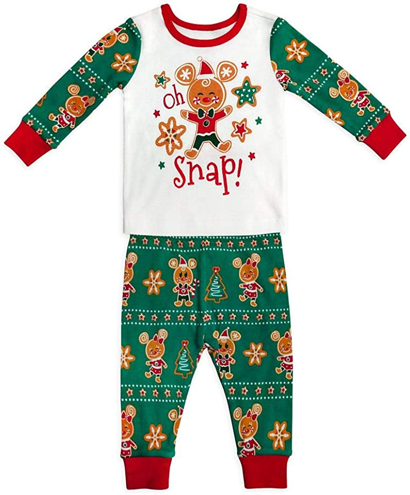 Disney Mickey and Minnie Mouse Holiday PJ PALS for Baby