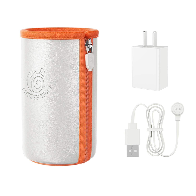NICE PAPA Travel Bottle Warmer, Portable Bottle Warmer for 4oz Narrow Baby Bottles