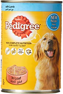 Pedigree Lamb, Wet Dog Food, Can, 400 gm