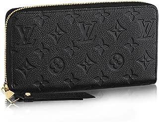 Louis Vuitton Monogram Empreinte Zippy Wallet M61864 Noir