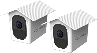 Holicfun Outdoor Weatherproof Housing Compatible with Arlo Pro and Arlo Pro 2 Camera (White, 2 Pack)