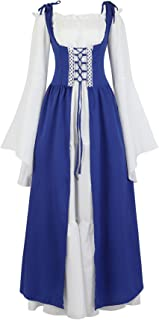 blue renaissance dress costume