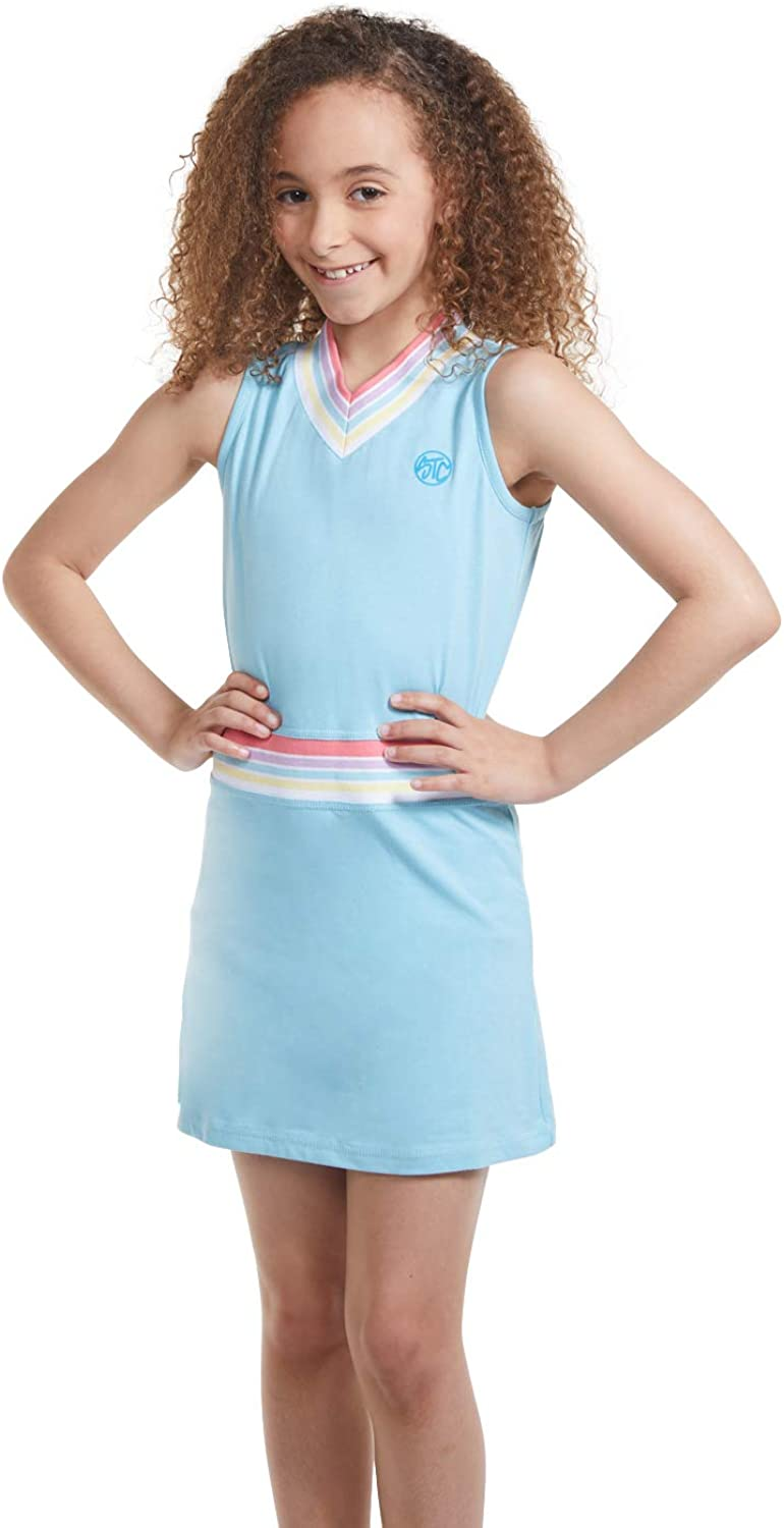 Girl Tennis and Golf Direct sale of manufacturer Free shipping anywhere in the nation Outfit Dres Sleeveless Neck V –