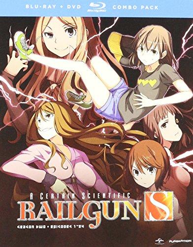 Certain Scientific Railgun S: Season 2 [Blu-ray] [Import]