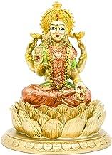 BangBangDa Hindu Goddess Laxmi Statue Sculpture – Indian God Lord Mather Lakshmi Puja Statue - India Pooja Item Murti Idol...
