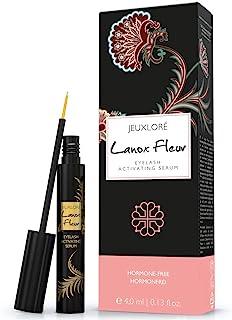 Lanox Fleur Premium wimperserum van Jeugloré – 4 ml wimperserum voor mooie, dichte wimpers en wenkbrauwen – hoogwaardig ge...