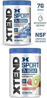 Scivation Xtend Hydrasport BCAA Powder, Branched Chain Amino Acids, BCAAs, Zero Sugar Electrolyte Drink Powder + Hydration...