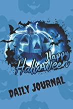 Halloween Daily Planner: Daily Planner Agenda Logbook Easily for Daily Diary Purposes, Notes, Planning Reminders or Journa...