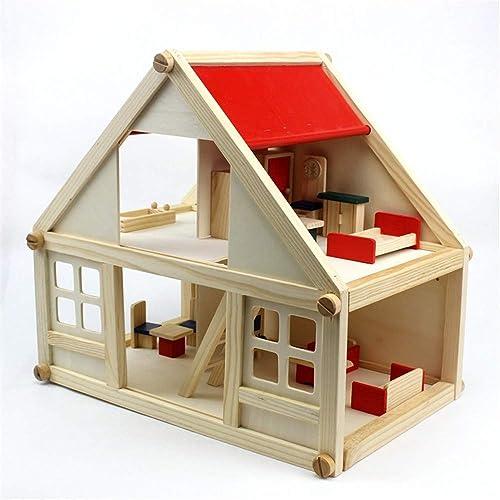 tomamos a los clientes como nuestro dios AUMING Juguetes Rompecabezas Mini Juguetes de la casa casa casa de la asamblea de la Escena de la simulación los Mejores Regalos de cumpleaños para los Niños de los Niños del Estudiante y Las Muchachas  ahorra 50% -75% de descuento
