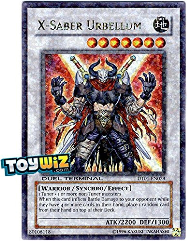 YuGiOh   XSaber Urbellum (DT01EN034)  Duel Terminal 1  1st Edition  Ultra Rare