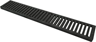 NDS 243 2' Speed-D Channel Drain Grate, Black