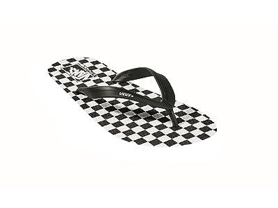 Vans Makena ((Checkerboard) Black/True White) Men