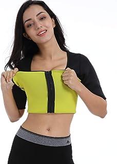 Bakerdani Womens Hot Thermo T Shirt Neoprene Slimming Shapewar Best Body Shaper Workout Sweat Sauna Suit Sports Fat Burner...
