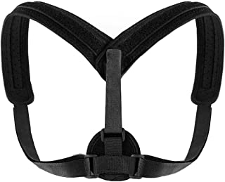 Back Brace Posture Corrector for Women & Men - Fully Adjustable Support Belt Improves Posture and Upper Back Pain Relief U...
