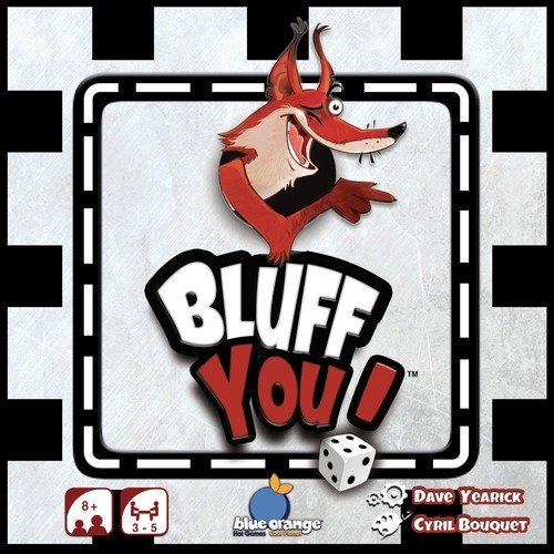 Blue Orange Games BLU90452 Bluff You, Brettspiel
