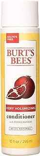 Burt's Bees Very Volumizing Conditioner Pomegranate 10 oz (Pack of 3)