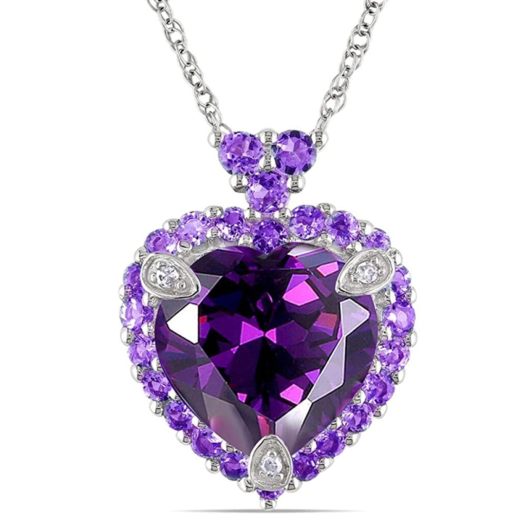推定するトーストクレタペンダントネックレス高級ビッグクリスタルハートネックレスペンダント女性のための紫色のロマンチックな925シルバーチェーンネックレス結婚式の細かい贈り物