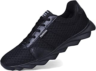 Men Classic Sytle Running Shoes Spring and Summer Breathable Mesh Casual Round Toe Walking Sneakers