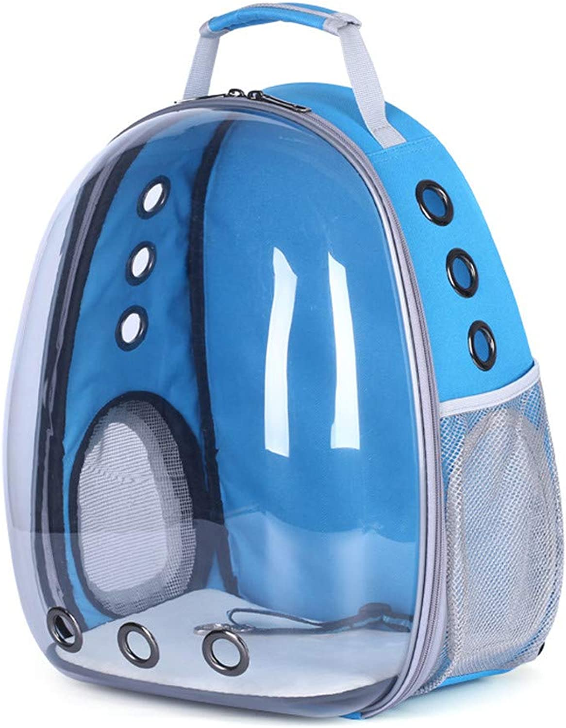 DHCY Transparent pet backpack out multifunction portable shoulder pet supplies cat dog cage pet space capsule backpack outdoor travel