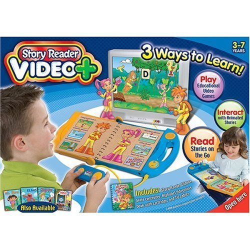 Story Reader Video 3-7 Years Brand New