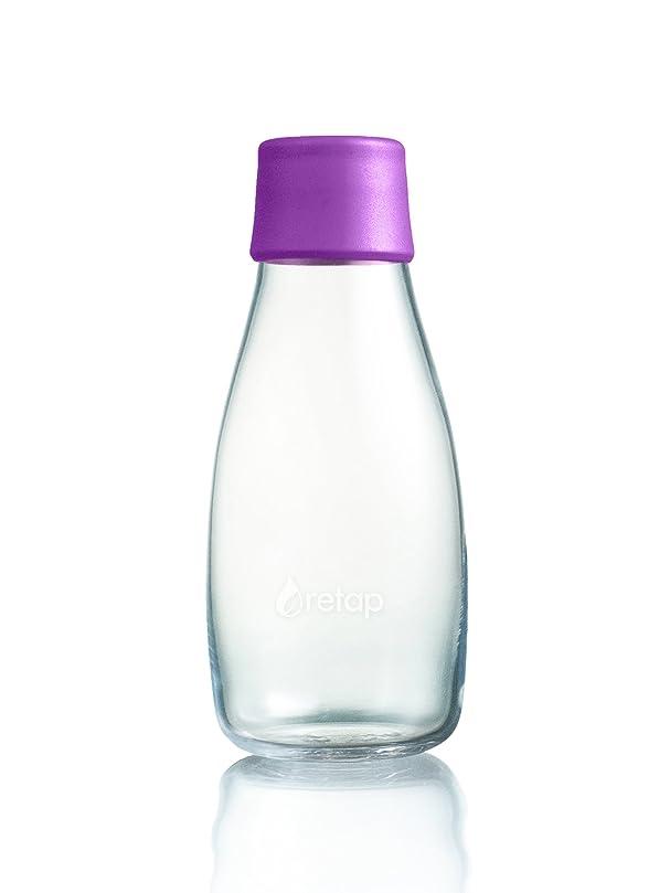 オーブン割り当てる変化Retap Bottle リタップ ボトル (300ml, パープル)