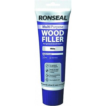 Ronseal MPWFW325G - Masilla multiusos para madera (325 g), color blanco