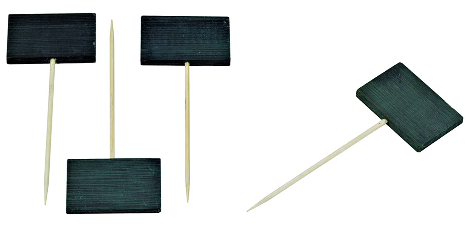"""""""Tikon'' Bamboo Pick Skewer OFFicial shop End with Max 44% OFF Slate Case"""