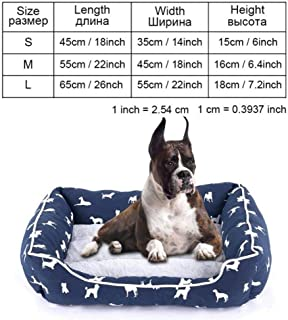 MHGStore Pet Products Dog Bed Bench Dog Beds Mats for Small Medium Large Dogs Puppy Bed