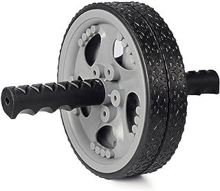 AB Roller, rodillo abdominal AB ROLLER rueda -- Muscle Exerciser para gimnasio/Home Fitness entrenamiento -- No ruido–doble ruedas