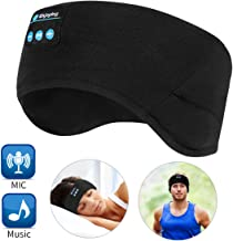 Bluetooth Headband Wireless Sleep Headphones, TOPOINT Music Sports Sleeping Headband..