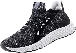 JiaMeng Zapatos Deportivos Running Zapatillas para Correr Zapatillas Ligeras Zapatillas de Deporte Transpirables Tejidas a Mano Yoga Transpirable de Secado Rápido