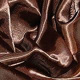 Discount Fabrics Ltd Seidiger Satin-Stoff für Kleider,
