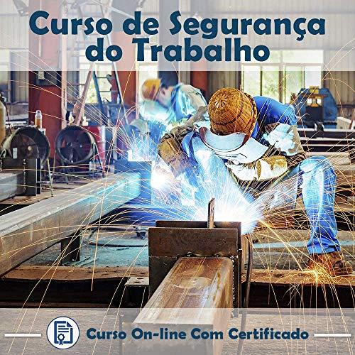 Curso online em videoaula de como funciona Segurança do Trabalho com Certificado + 2 brindes