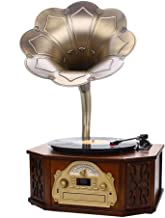 $1005 » TDCQQ Audio & Video Turntables Retro Bluetooth Speaker Vintage Built in Speakers & Remote Record Player Living Room Audio ...