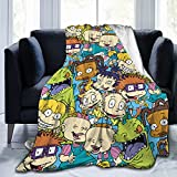 Chuckie Finster Super Soft Blanket Flannel Decorative Bedspread Throw Quilt All Season Warm and Cozy Quilt Blanket for Couch Bed Sofa,Well Gifts for Women Or Men… (Chuckie Finster 1, 60x50 inch)