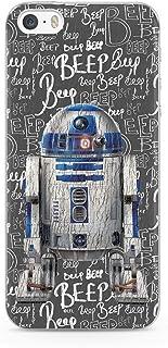 Ert Group SWPCR2D901 Star Wars Cubierta del Teléfono Móvil, R2D2 004, iPhone 5/5S/Se