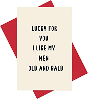 Funny Birthday Card for Brother Boyfriend, Husband Anniversary Card, Valentine's Day Card for Him