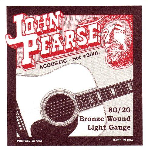 John Pearse snaren licht gitaar set brons